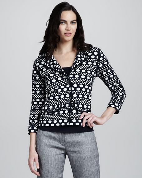 Elijah Printed Knit Jacket