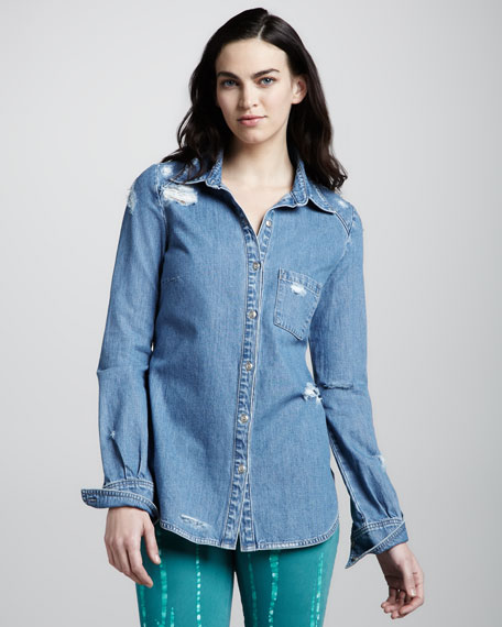 Eden Deconstructed Denim Shirt