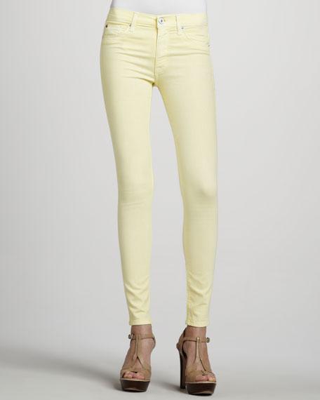 Nico Super-Skinny Jeans, Banana