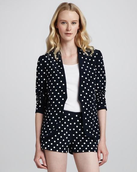 Paulette Pearl-Stud Jacket