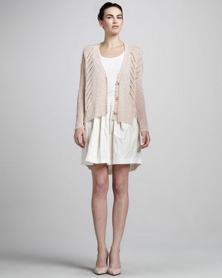 Joan Full Silk Skirt