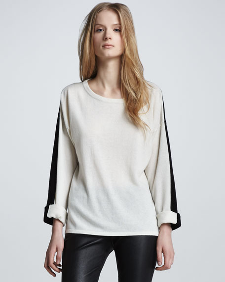 Cashmere Colorblock Sweater