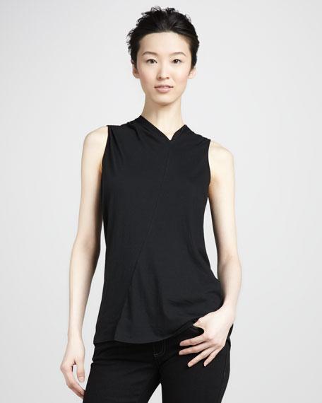Denise Asymmetric Jersey Top