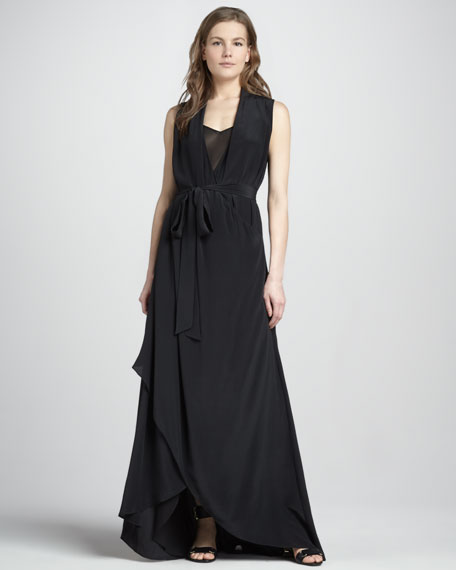 Celine High-Low Gown