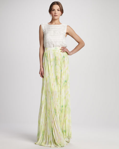 Shannon Floral Maxi Skirt