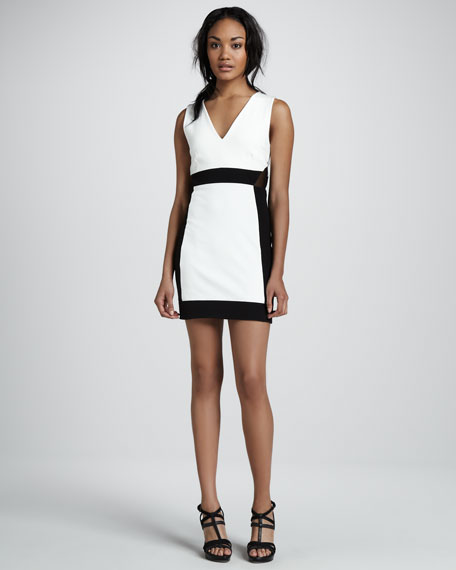 Alexis Chroma Contrast  Dress