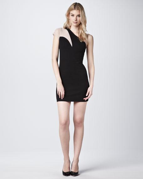 Chroma Kruger One-Shoulder Dress