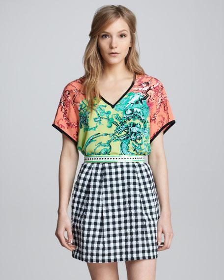 Love Parade Gingham Skirt