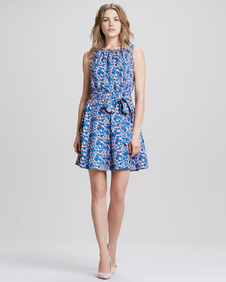 Tootsie Paisley-Print Dress