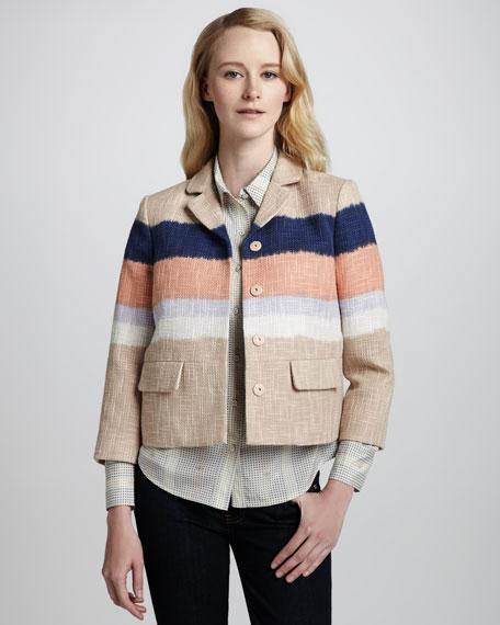 Austine Ombre Box Jacket