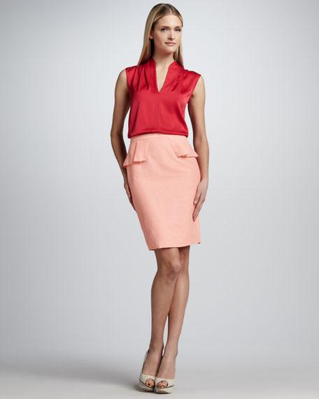 Naomi Peplum Skirt