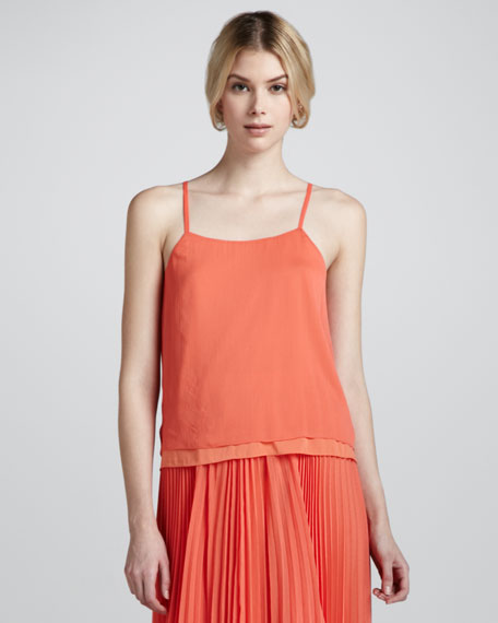 Layered Georgette Tank