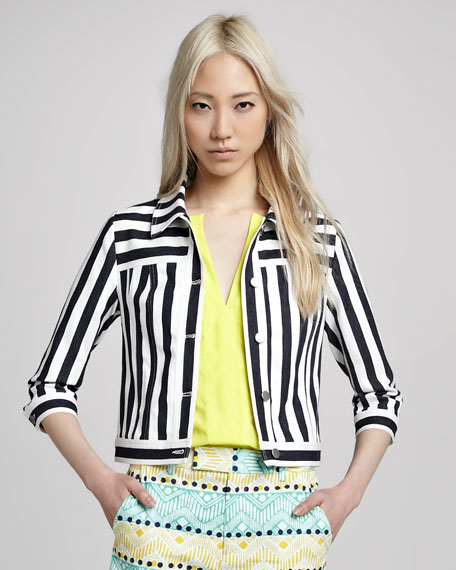 Panorama Striped Jacket