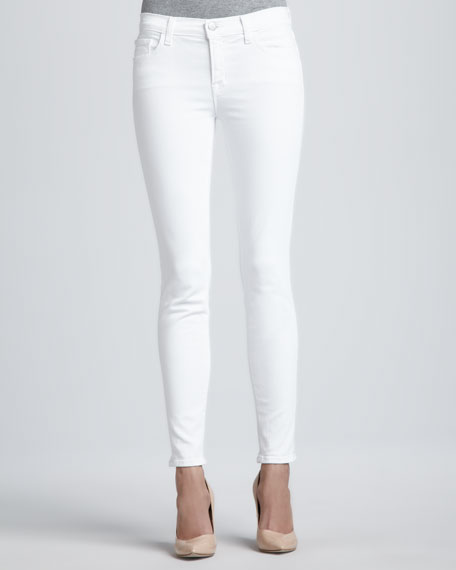 811 Blanc Mid-Rise Skinny Jeans