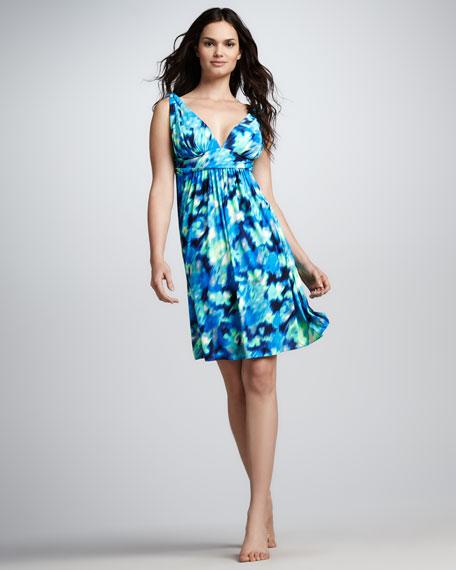Malawi Floral-Print Coverup Dress