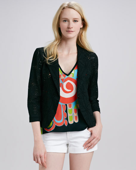 Barcelona Crochet Blazer