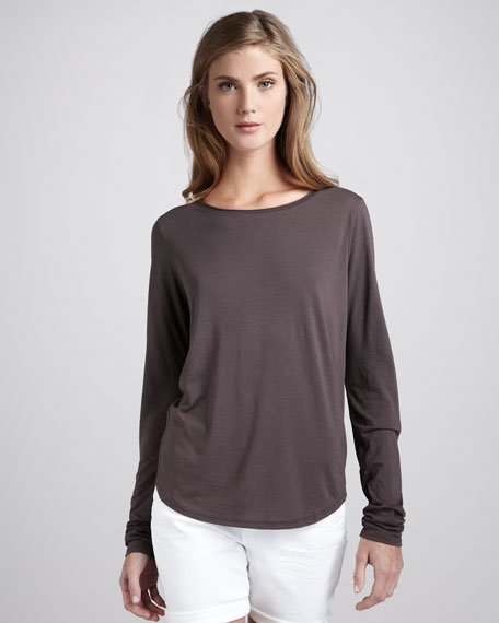 Long-Sleeve Jersey Tee