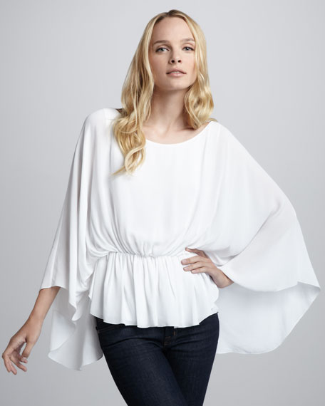 Judith Butterfly-Sleeve Top