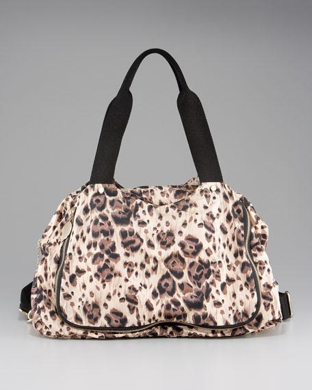 Leopard-Print Weekender Bag