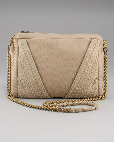 Lanie Stitched Shoulder Bag