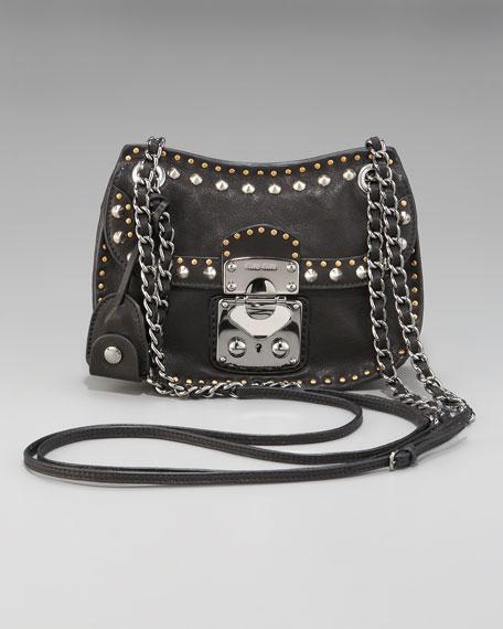 afdf2ea2683 Miu Miu Studded Crossbody Bag