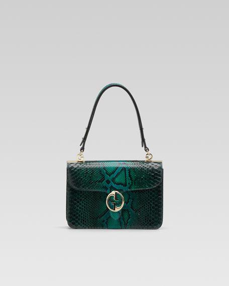 1973 Python Medium Shoulder Flap Bag