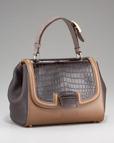 Silvana Croc & Stingray Bag