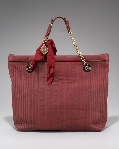 Quilted Amalia Bucket Tote