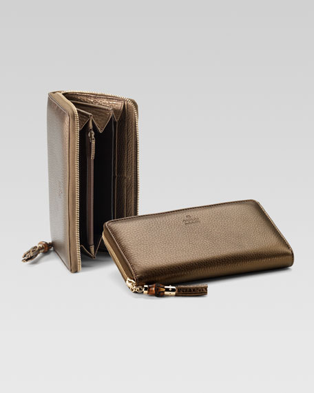 Tassel Zip-Around Wallet