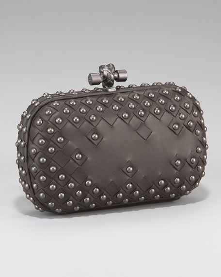 Studded Knot Clutch