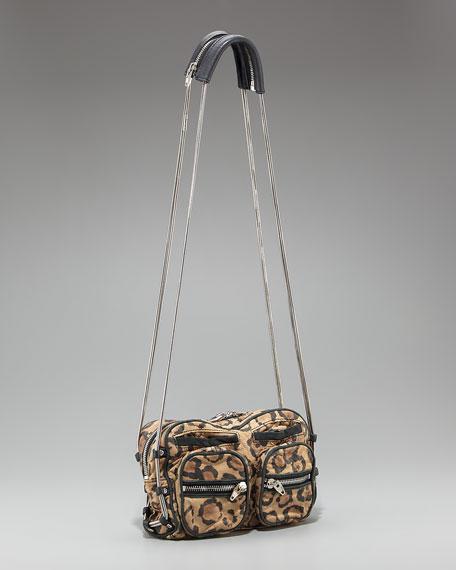 Brenda Leopard-Print Bag