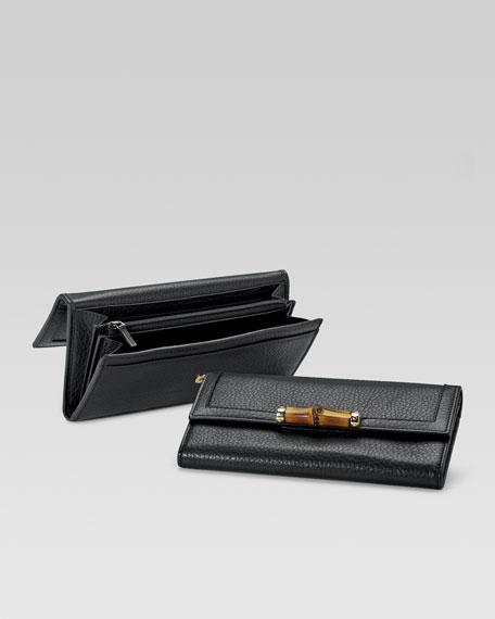 Bamboo Continental Wallet