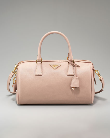 Saffiano Lux Top-Handle Bag