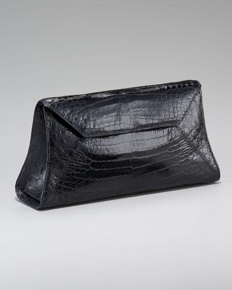 Crocodile Envelope Clutch
