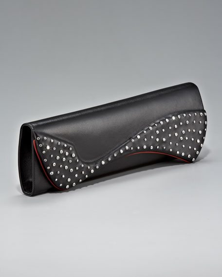 Pigalle Crystallized Clutch Bag
