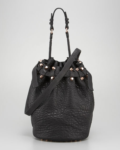 Diego Bucket Bag, Rose Hardware