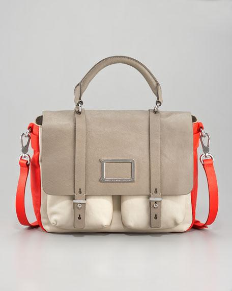 Werdie Top-Handle Messenger Bag