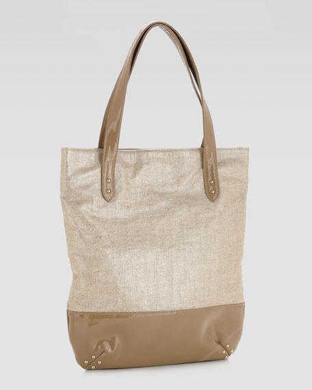 Olivia Linen Tote Bag