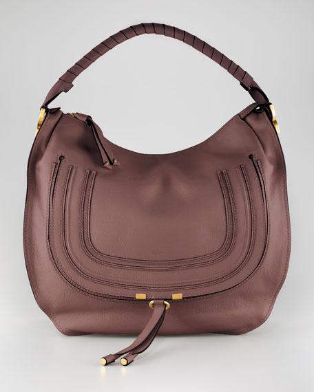31bbd8a22e Chloe Marcie Large Hobo Bag, Nut