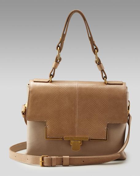 Snakeskin Miss Sartorial Shoulder Bag
