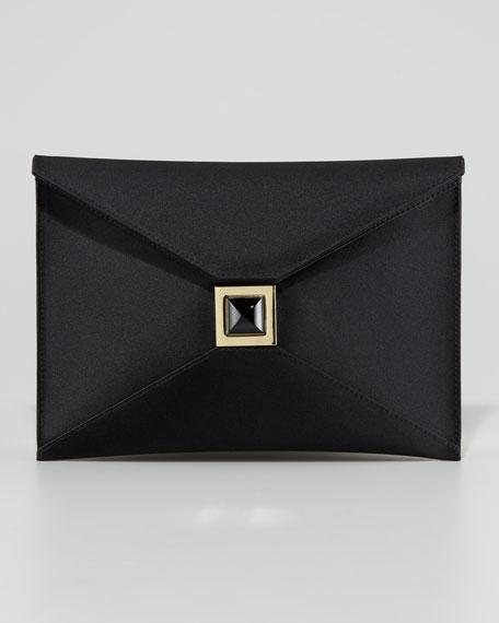 Prunella Satin Clutch Bag