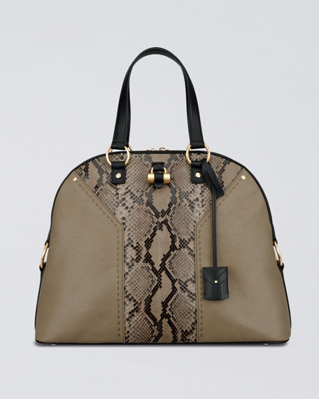 Python Muse Satchel Bag