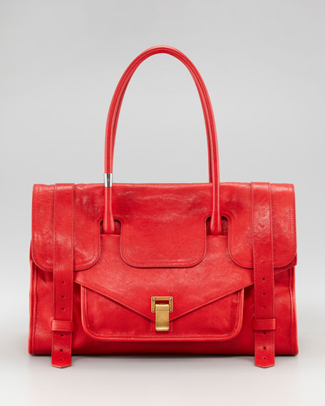 Small PS1 Keep-All Bag, Bright Red