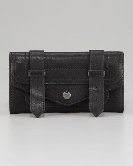 PS1 Continental Wallet, Black