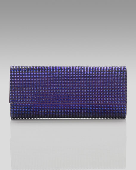 Ritz Fizz Clutch, Plum
