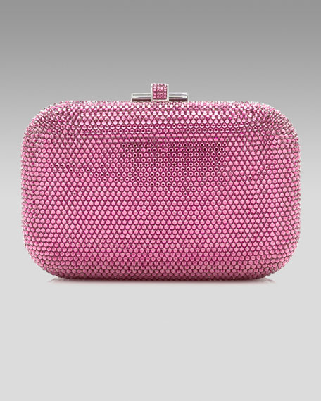 Slide Lock Minaudiere, Rose