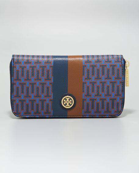 Roslyn Zip Continental Wallet