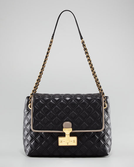 The Single Baroque Two-Tone Quilted Bag, Extra-Large