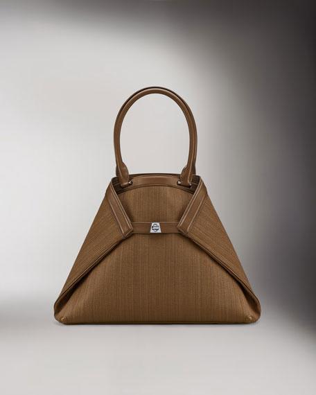 Ai Horsehair Tote Bag, Medium