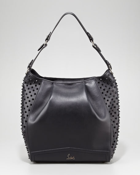 Justine Spike Hobo Bag